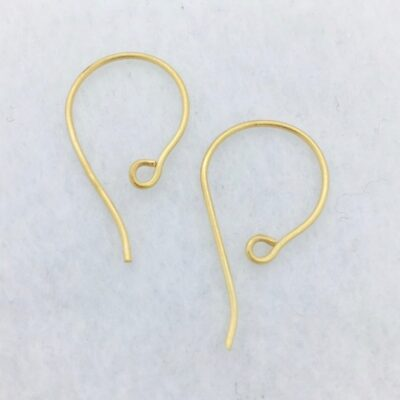 SE38g 26x15mm 21 gauge gold plated