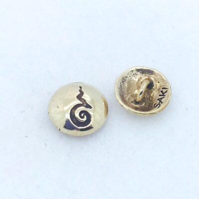 B11 Bronze Yan Button