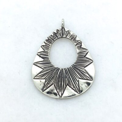 WBP16 white bronze pendant