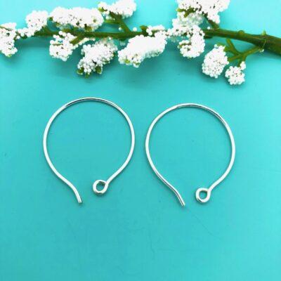 SE22 sterling silver earwires