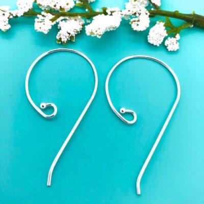 SE20 sterling silver earwires