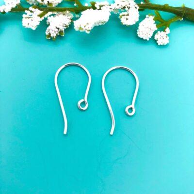 sterling silver earwires SE37