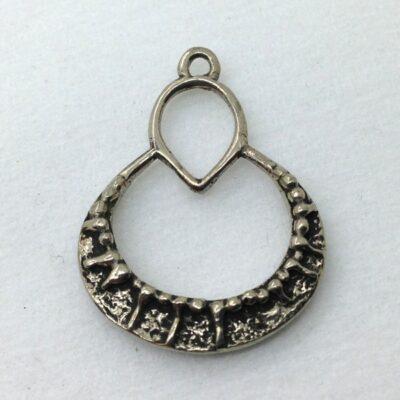 WBP37 white bronze pendant