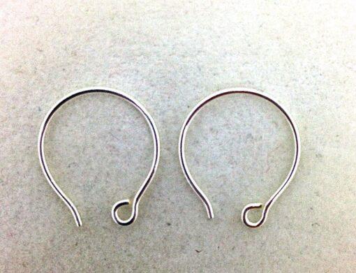 SE23 sterling silver earwires, 10 pr
