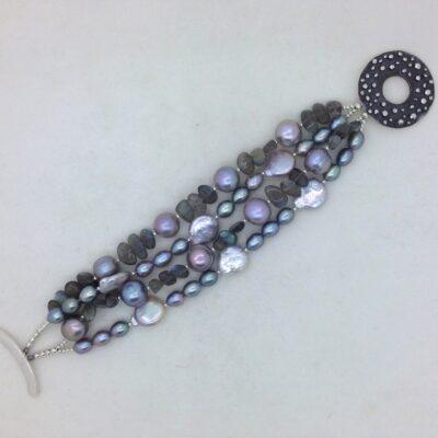 D25 Lavender Sunset Bracelet