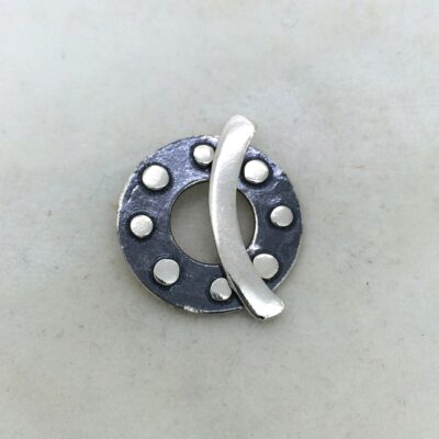 ST80 sterling silver toggle