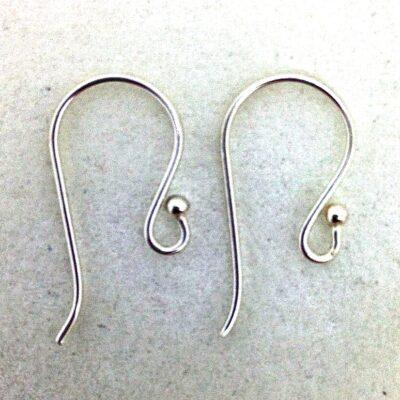 SE30 sterling silver earwires, 10 pr