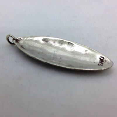 WBP34 white bronze pendant