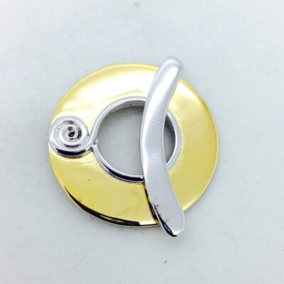 ST129 gold /rhodium plated toggle