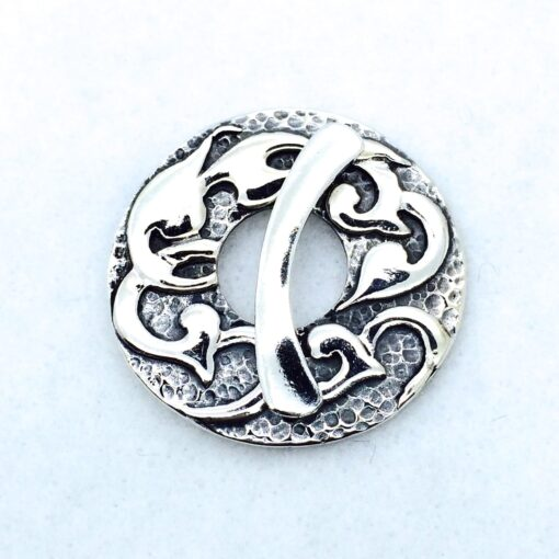 ST102 Sterling silver 36mm toggle