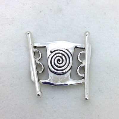ST92 double strand double toggle sterling silver toggle