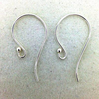 SE31 sterling silver earwires, 5 pr
