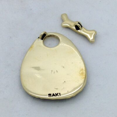 STB143 coral toggle pendant