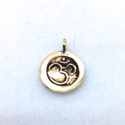 BP14 bronze ohm charm