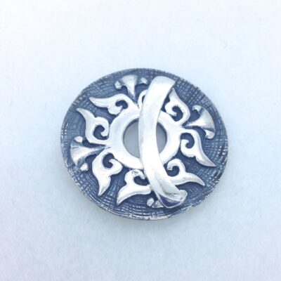 ST99 sterling silver toggle 32mm