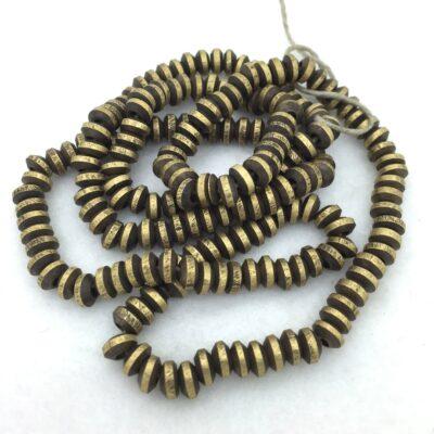 SB36 Bronze Saucer Bead