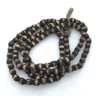SB34 Oval Bronze Beads