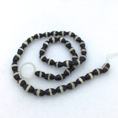 Striped Bone Bead