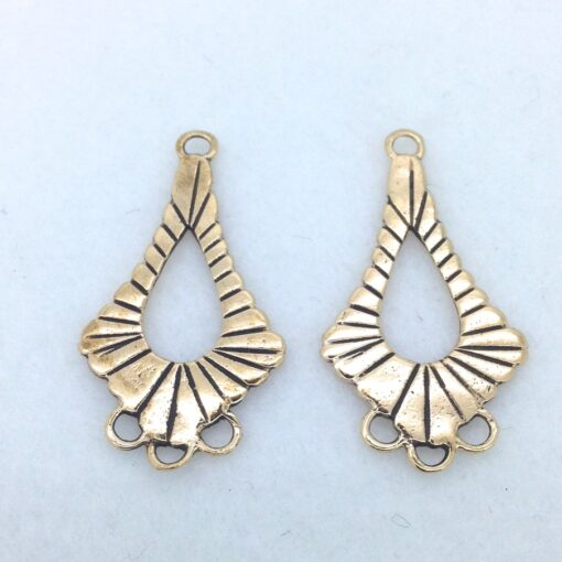 EF5 bronze earring finding