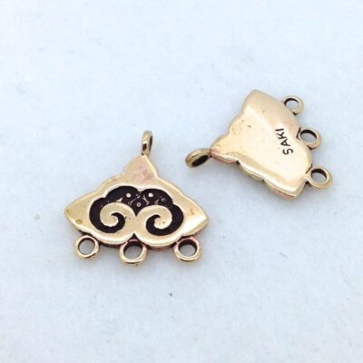 EF1 Nepali Cloud Earring Finding pair