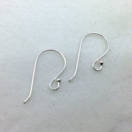 sterling silver french earwires, 10 pr
