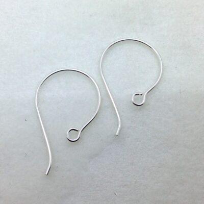 SE38 sterling silver earwires, 10 pr