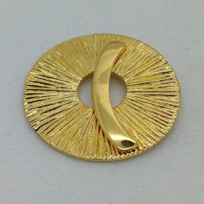 ST88 22k gold plated sunburst toggle