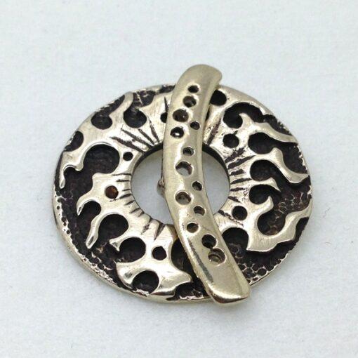 SW68 white bronze toggle
