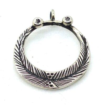 WBP3 white bronze pendant