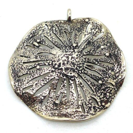 WBP35 white bronze pendant
