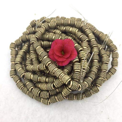 bronze barrel bead