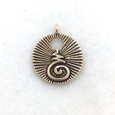 Bhuddist Blessing Charm Pendant