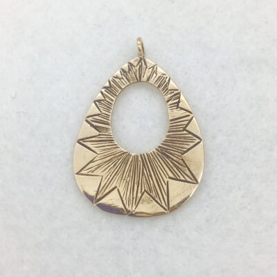 bronze pendant