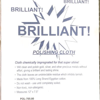brilliant polishing cloth